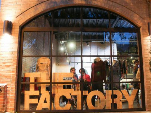 The Factory Pop Up Store